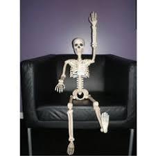 posable skeleton size posable skeleton spooktacular decor