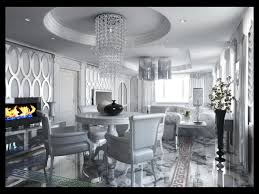 3d living room art deko cgtrader
