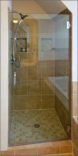 single frameless shower doors