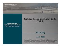beech kit catalog april 2009 documents