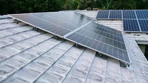 Flat Tile Roof Residential Solar Project Gallery St Petersburg Fl