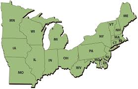 Map Of The Northeast Fac And State And Private Forestry Converge Interview Maureen