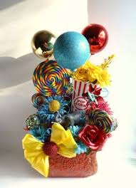 circus themed centerpiece midway decor pinterest