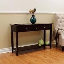 Espresso Console Table Ebay Console Table Wood Antique Hall Sofa Entryway Entry