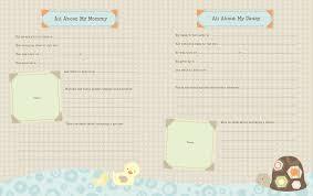 baby keepsake book baby memory book laguna