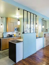 verriere dans cuisine une verrière dans la cuisine pour une déco rétro style atelier