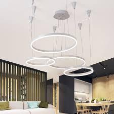 wohnzimmer hängele aliexpress neue fernsteuerungs ring pendelleuchte moderne