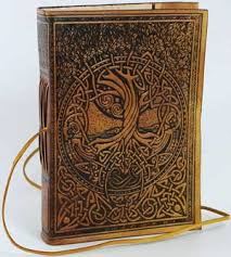 leather bound photo book fashoin leather journal celtic fairy journal 18 00us