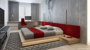red and grey bedroom decor living room design ideas
