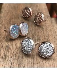 graduation gift jewelry spectacular deal on druzy earring set post earrings stud earring