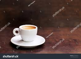 espresso coffee white cup espresso coffee on background stock photo 573782734