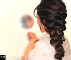 elsa frozen hairstyle braids big hair tutorial