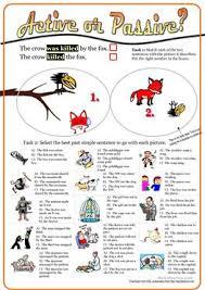23 free esl past simple passive worksheets
