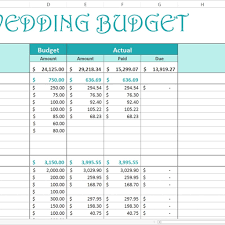 free wedding budget excel template savvy spreadsheets with