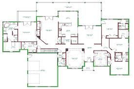 quad level house plans one level home plans 6 bedroom house plans one level luxury 2