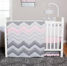amazon com trend lab chevron 3 piece crib bedding set cotton