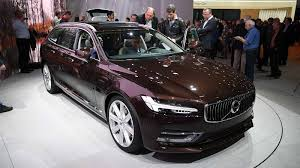 mitsubishi station wagon 2017 2017 volvo v90 station wagon makes global debut autoguide com news