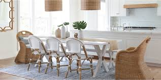 coastal dining room table coastal dining room table sets serena lily