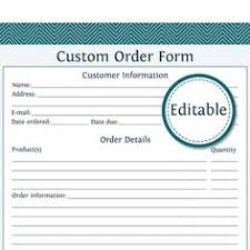 dinner order form template this printable order form has fields for all the details involved