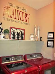 Decorating Laundry Room Walls by Unique Laundry Room Decor Ideas