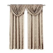 Window Valance Red Window Scarves U0026 Valances Window Treatments The Home Depot