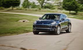 porsche driveway 2017 porsche macan in depth model review car and driver