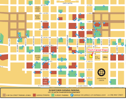 Austin Downtown Map by Downtown Austin Parking Torabi Realty Atx