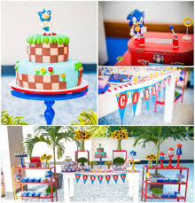 sonic party supplies sonic birthday party decoration ideas