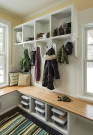 Mudroom Storage Bench Mudroom Storage Bench Entry Contemporary With Built In Storage