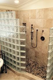 glass block bathroom ideas myths about glass block showers