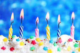 candle light on cake for birthday doğumgünü pasta pinterest
