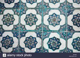 Ottoman Tiles Beautiful Ancient Ottoman Tiles Stock Photo 104647542 Alamy