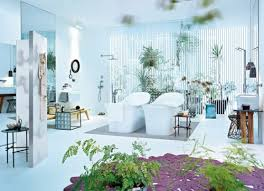 10 cool bathrooms decorated with natural plants shelterness