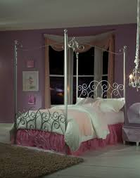 White Princess Bed Frame Princess Size Canopy Bed