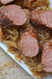 crockpot german sauerkraut with brats u2013 faith hope love u0026 luck