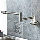 amazon com wall mount kitchen faucets kitchen fixtures tools