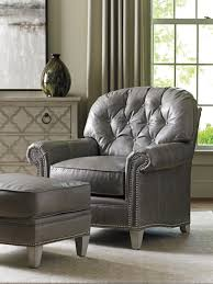 Leather Chair Oyster Bay Bayville Leather Chair Lexington Home Brands