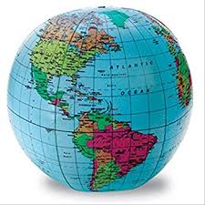globe earth maps learning resources 12 inch globe toys