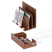 build a charging station amazon com g u s multi device charging station dock u0026 organizer