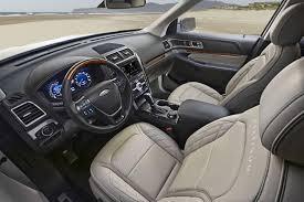 ford explorer trim 2016 ford explorer shows 2 3 liter ecoboost and platinium trim