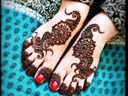 mehndi design leg simple makedes com