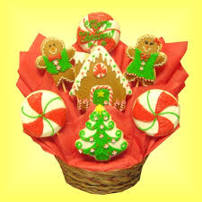 Cookie Gifts Christmas Gifts Christmas Gift Baskets Christmas Cookie Bouquets