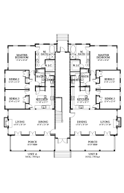 carolina commons mansion flat a house plan 06443 a design from