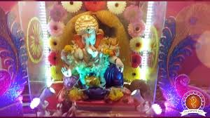 Home Ganpati Decoration Omkar Kulkarni Home Ganpati Decoration Video U0026 Ideas Www Ganpati