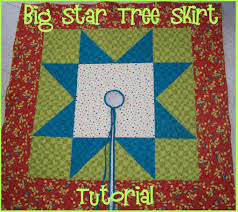 christmas tree skirt tutorial cornbread u0026 beans quilting and decor
