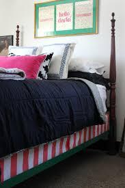 the diy designer upholstered box springs a bed skirt alternative