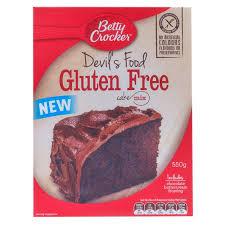 buy betty crocker cake mix devils food cake gluten free 550g
