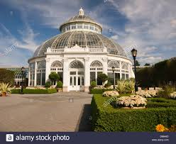 Botanical Garden In The Bronx The Enid A Haupt Conservatory At The New York Botanical Garden In