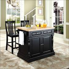 black kitchen island with butcher block top kitchen furniture small modern black kitchen island drawer