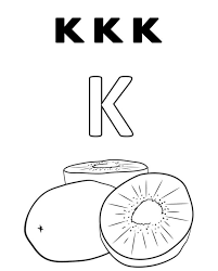 kiwi coloring pictures sweet kiwi fruit coloring pages k for